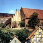 1991-01-Eine Tour durch Havelberg, Blick zum Dom St. Marien, Foto-© Heimatverein Havelberg e.V. – Repro fweDESIGN