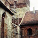 1991-04-Eine Tour durch Havelberg, Blick zum Ostflügel, Foto-© Heimatverein Havelberg e.V. – Repro fweDESIGN