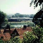 1991-06-Eine Tour durch Havelberg, Blick zur Werft, Foto-© Heimatverein Havelberg e.V. – Repro fweDESIGN
