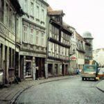 1991-09-Eine Tour durch Havelberg, Steinstraße, Foto-© Heimatverein Havelberg e.V. – Repro fweDESIGN