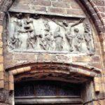 1991-15-Eine Tour durch Havelberg, Salzmarkt - Beguinenhaus, Archivolte mit Relief, Foto-© Heimatverein Havelberg e.V. – Repro fweDESIGN