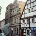 1991-23-Eine Tour durch Havelberg, Hinter der Kirche, Foto-© Heimatverein Havelberg e.V. – Repro fweDESIGN