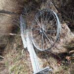 Der Aufbau, sprich das Radgestell wartet noch auf seinen Einsatz, Foto: © Tobias Ernst - Biosphärenreservatsverwaltung Mittelelbe, Verwaltung am Standort Schollene/Ferchels